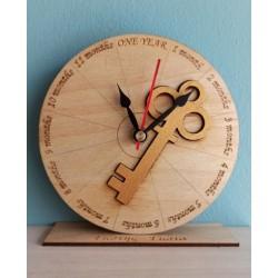 Ρολόι για την πρώτη επέτειο...