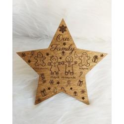 Κορυφή αστέρι με οικογένεια...