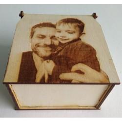Κουτί με χάραξη φωτογραφίας