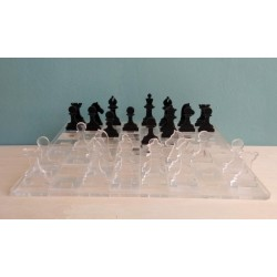 Σκάκι από plexiglass